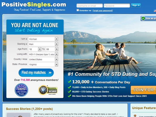 Herpes Dating Site In USA